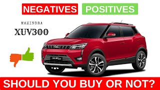 Mahindra XUV300 2019 Review: Pros, cons: Should you buy?