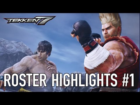 Tekken 7 - PS4/XB1/PC - Roster highlights #1 (Character Trailer)