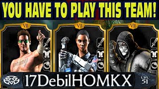 THE MOST EPIC VICTORY vs. DebilHomkx in MKX Mobile! This Team DESTROYS Hackers!