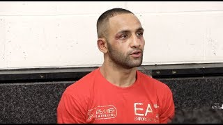 KID GALAHAD REACTS TO SPLIT DECISION LOSS VERSUS JOSH WARRINGTON IN LEEDS & CUSSES OUT CARL FRAMPTON