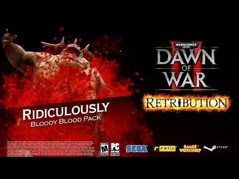 Warhammer 40,000: Dawn Of War II - Ridiculously Bloody Blood Pack