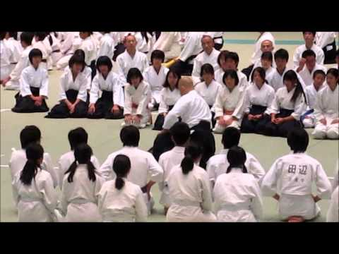 Kuribayashi Takanori at All Japan Children's Aikido Training Image 1