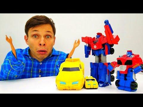 Фёдору Десептиконы уменьшили РУКИ 🙌 Видео игрушки #Трансформеры Игры для мальчиков #промашинки