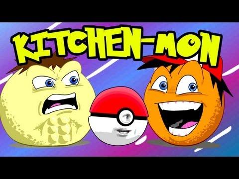 Annoying Orange - Kitchen-mon! (Pokemon Spoof)