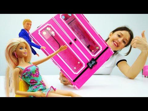 Мебель для Барби: #Кен и #Барби покупают мебель в новый дом.