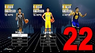 NBA 2K16 My Player Career - Part 22 - Free Agent Contract Negotiations (PS4 Gameplay)
