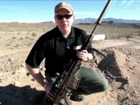 Barrett MRAD .338 Lapua Magnum Sniper Rifle