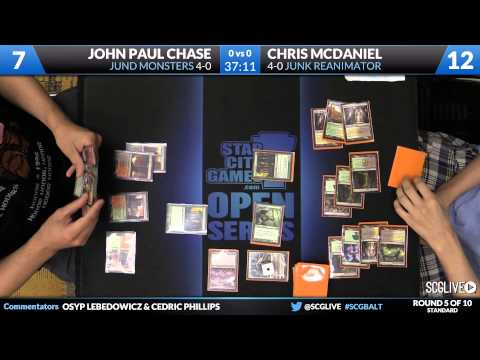 SCGBALT - Standard - Round 5 - John Paul Chase vs Chris McDaniel [Magic: the Gathering]