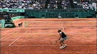 Monica Seles vs Mary Pierce 1997 French Open 4th round