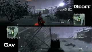 Let's Play Call of Duty_ MW3 - Spec Ops With Geoff & Gavin - Part 1
