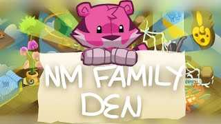 Family Den Tutorial - NM EDITION! | Animal Jam