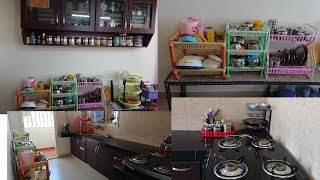 Kitchen Tour | My new kitchen tour Part II | Kitchen Organization | Kitchen tour in tamil