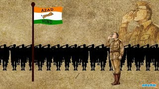 Netaji Subhash Chandra Bose - Freedom Fighter - History of India | Educational Videos by Mocomi Kids