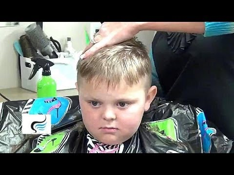 How To Cut A Boys Hair - Hairstyle