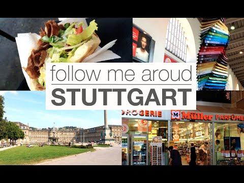 ГЕРМАНИЯ | Штутгарт: Поезда, магазин, цены, город, где мы живем | Little Lily