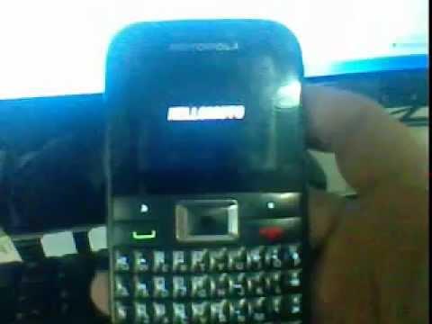 Motorola EX109 Modo de Avião