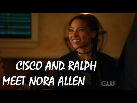 The Flash 4x11: Ending - Cisco and Ralph meet Dawn Allen