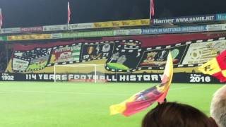 Go Ahead Eagles - SC Heerenveen 03-12-2016 in 4K