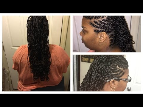 VEDA Day 8 : Braided Senegalese Mohawk Part 2