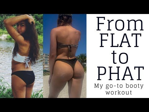 FROM FLAT TO PHAT | My go-to booty workout thumbnail