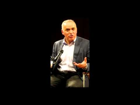 Garry Kasparov @ B.P.L., NYC 2106 03. on  Political Spring & Future of Russia. Jan 10 2016