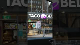 NEW TACO BELL OPENS IN MANCHESTER BURRITOS TACOS #MANCHESTER #TACOBELL