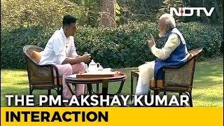"Narendra Modi Interview | ""I Never Get Angry, It Surprises People,"" PM Modi Tells Actor Akshay Kumar"