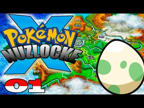 Pokémon X Nuzlocke #1 - Meu Primeiro Pokémon!