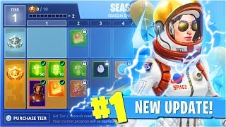 New BATTLE PASS 3 Update! 3 SQUAD WINS With My LITTLE BROTHER In Fortnite! (New Fortnite Update)