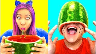So Hilarious! Funny Watermelon Hack! Prank Gone Wrong!