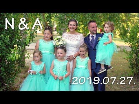 Noémi és Andor • Gyönk • 2019.07.27. • esküvői klip