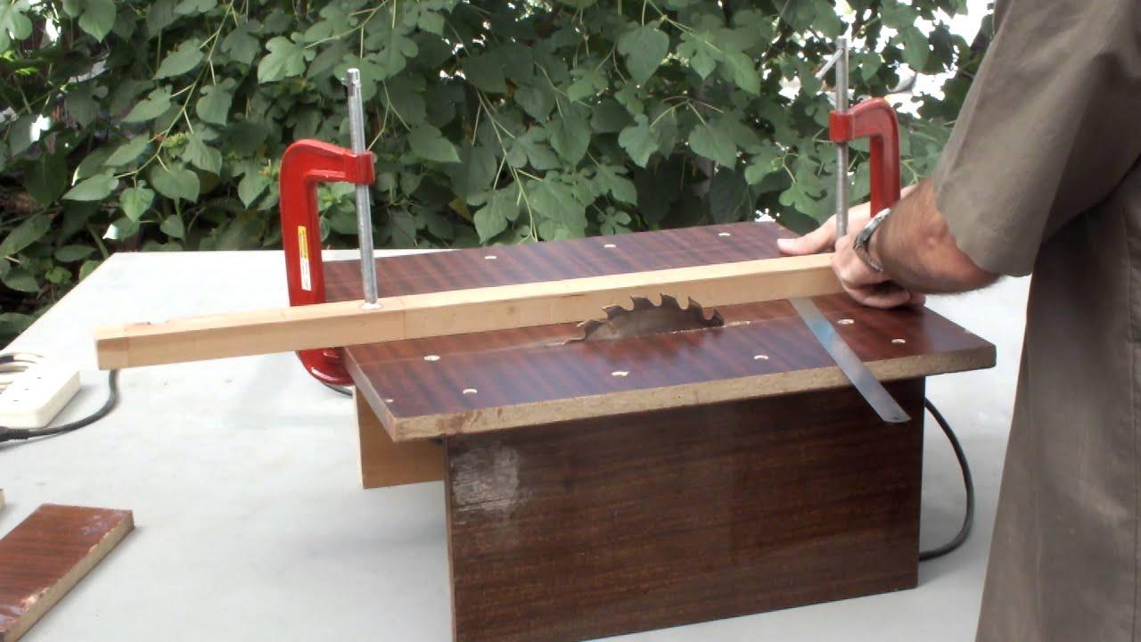 Самодельный распиловочный стол своими руками