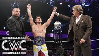 T.J. Perkins is crowned WWE Cruiserweight Champion: Cruiserweight Classic Live Finale on WWE Network