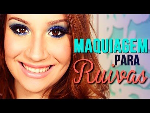 Maquiagem para RUIVAS! Por Bianca Andrade