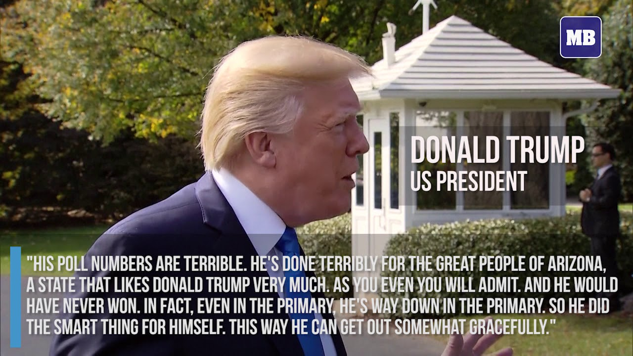 Trump punches back at Republican critics