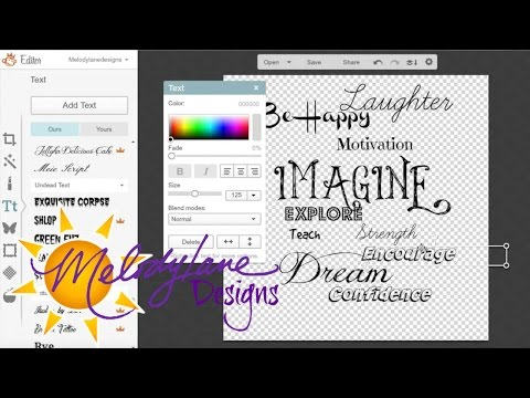 PicMonkey with Design Space