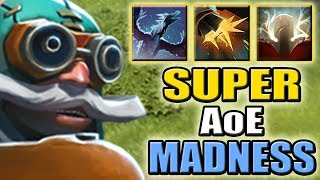 Multishot Arctic Burn with God's Strength [Absolute Imba AoE] Dota 2 Ability Draft
