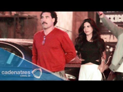 Romance entre Eduardo Yañez y África Zavala