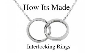 How To Make an Interlocking Ring Necklace