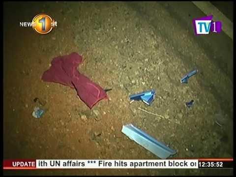 News 1st : Individual has dies following an accident Anuradhapura - Kurunegala main road