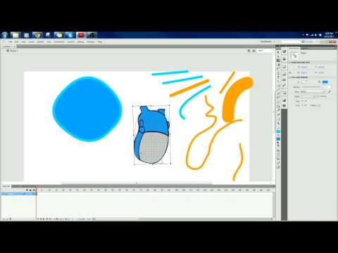 Flash CS5.5 introduction tutorial