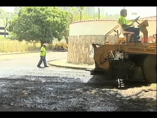 Blyde: Asfaltaremos 150 mil Metros Cuadrados de Vías en Baruta