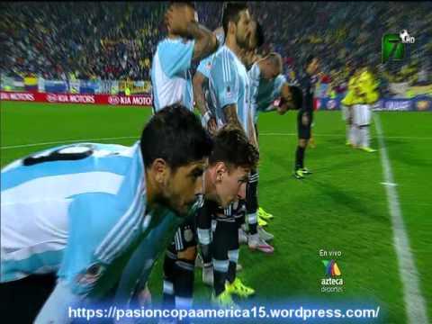 Argentina 0 Colombia 0 (5-4) (Radio Cooperativa Chile) Copa America 2015