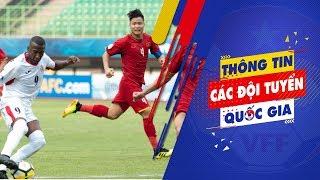 Thua Jordan, U19 Việt Nam đứng cuối bảng C VCK U19 châu Á 2018   VFF Channel