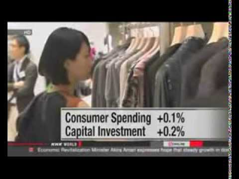 Japan's GDP growth slows down