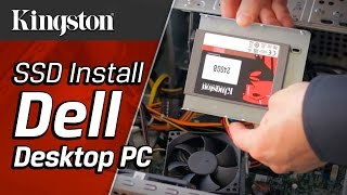 How to Install an SSD in a Dell Desktop PC - Kingston Technology