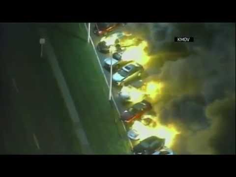 Ferguson Protests Inflame After Verdict - Raw Video
