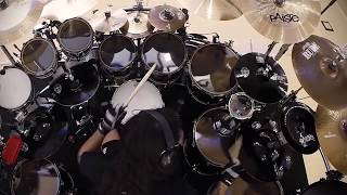 PRIMAL FEAR Aquiles Priester - Angel in Black (Drum-Cam)