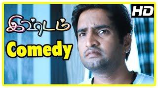 Santhanam Latest Comedy Scenes 2017 | Ishtam Comedy Scenes | Vimal | Santhanam | Nisha | Misha