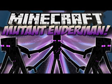 Minecraft   MUTANT ENDERMAN! (Mutant Creatures)   Mod Showcase [1.5]
